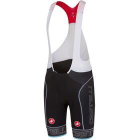 Castelli Free Aero Race Bibshorts Men black/sky blue